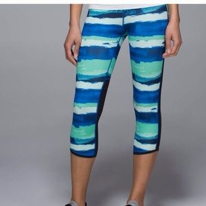 Lululemon Brush Strokes Pace Pusher Crops Pants 4
